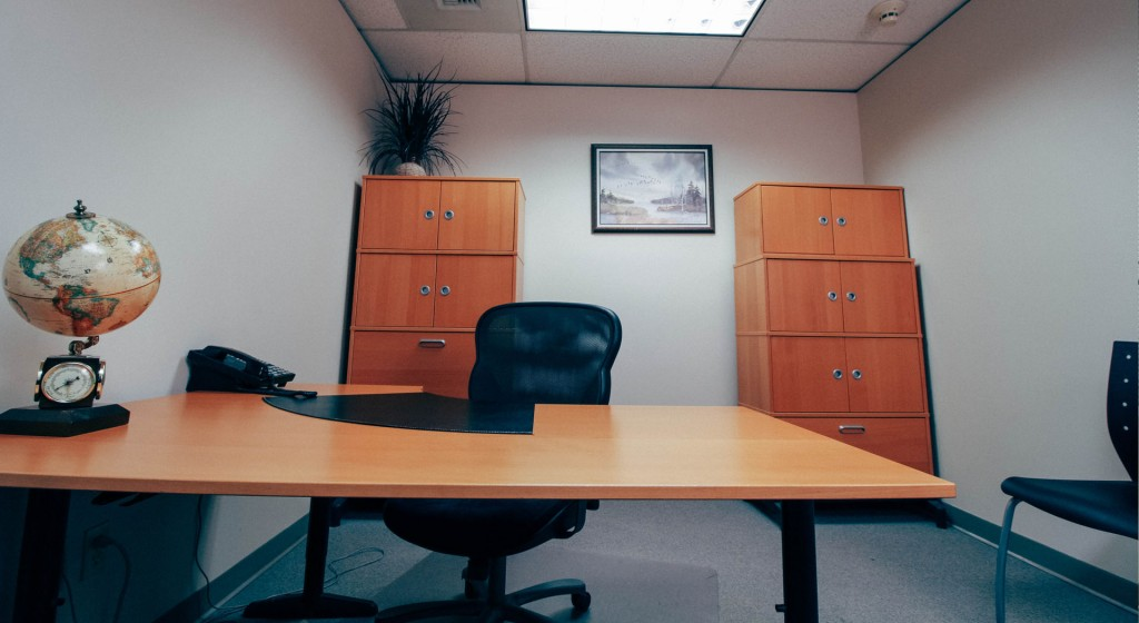 Hourly Office and day office rental at our executive suites