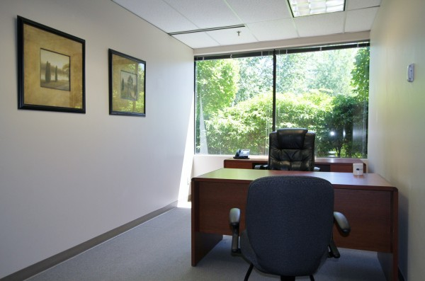 Private window office at Meadow Creek Business Center